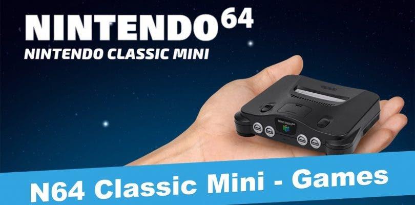 Nintendo 64 Classic Mini podría ser una realidad