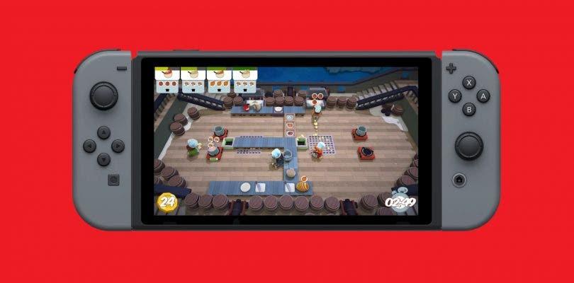 Overcooked y más juegos llegarán en formato físico a Nintendo Switch