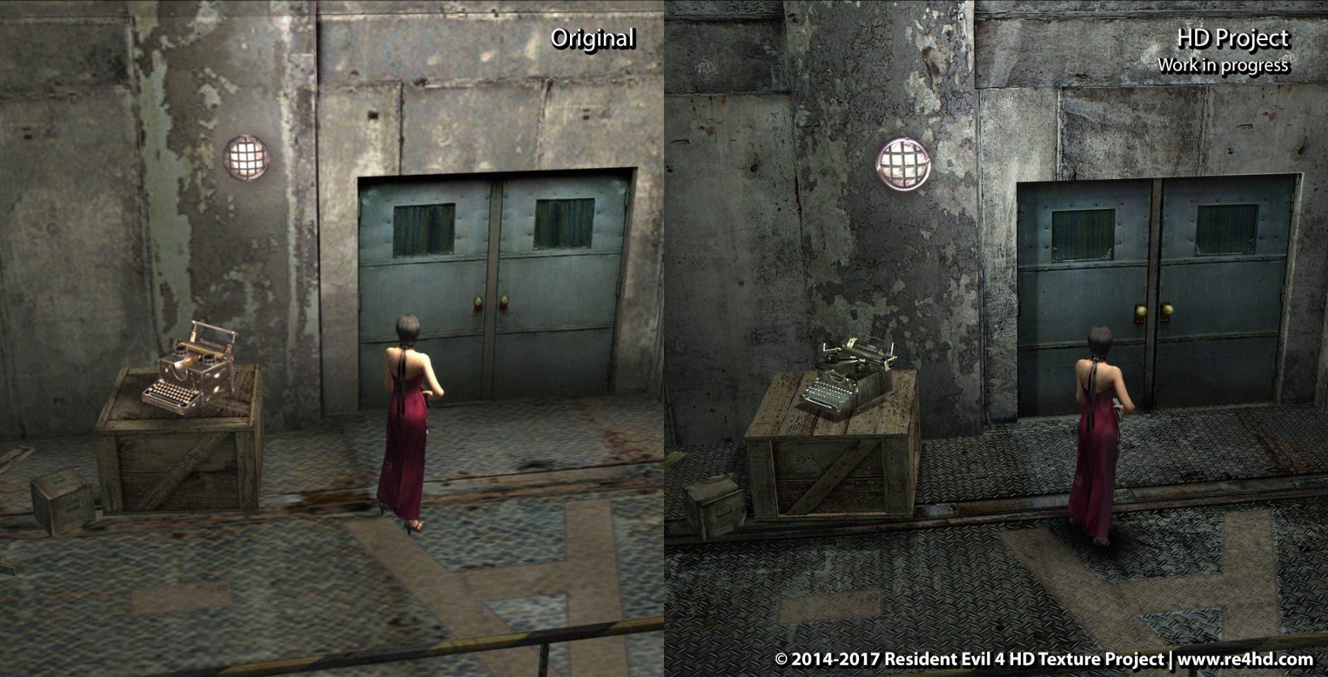 resident evil 4 ps4 vs ps2