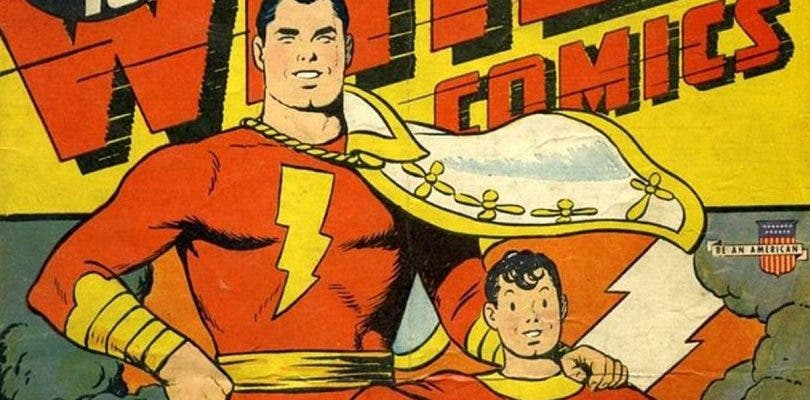 Shazam y Billy Batson se conocen en la premiere de Justice League