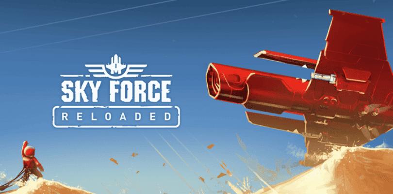 Sky Force Reloaded recibe tráiler de lanzamiento para Nintendo Switch