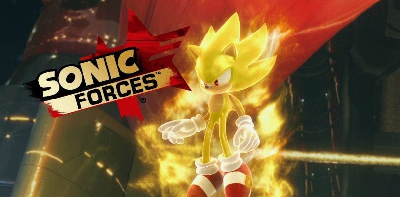 El primer parche de Sonic Forces añade soporte para Super Sonic