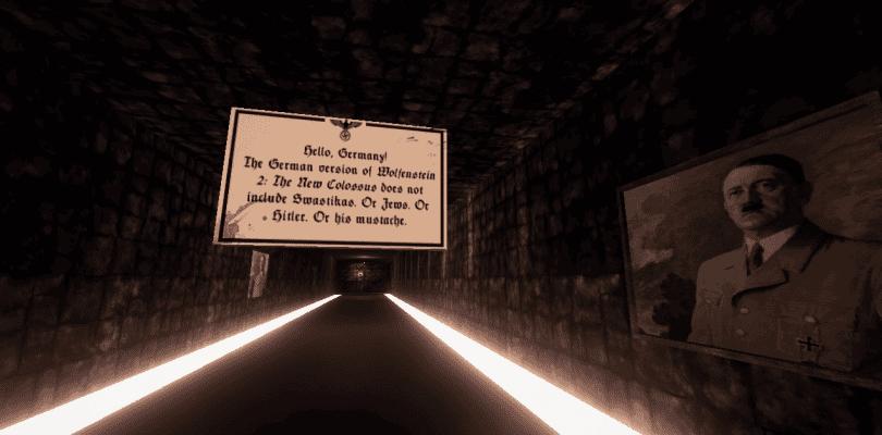 Aparece un juego que parodia la versión alemana de Wolfenstein II
