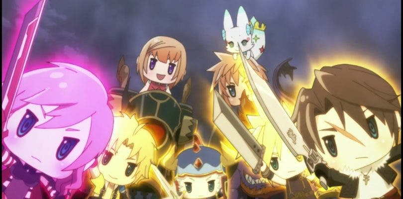 World of Final Fantasy: Meli-Melo