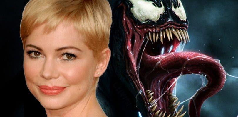 Michelle Williams es ya oficialmente Anne Weying en la película de Venom