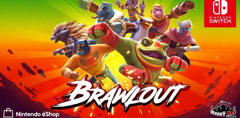 Así luce Brawlout en su último tráiler para Nintendo Switch