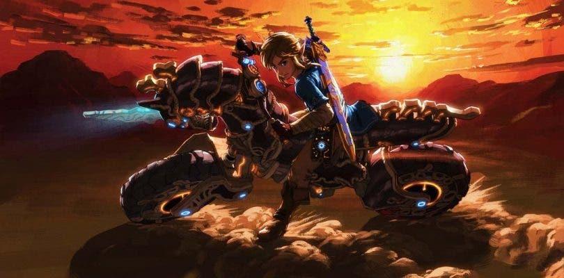 Breath of the Wild usó elementos de Mario Kart para la Master Cycle Zero