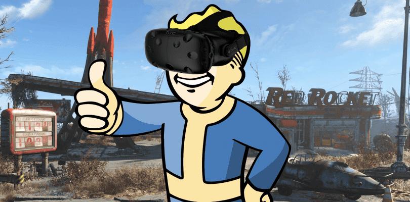 Bethesda ha publicado un nuevo gameplay de Fallout 4 VR