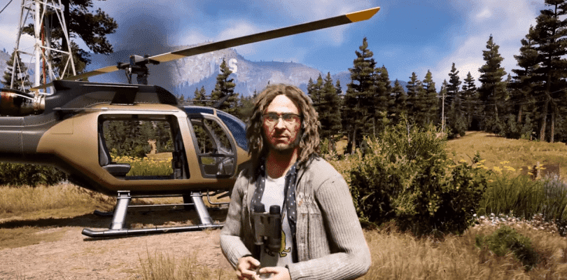 El Loco Larry Parker es la figura del último metraje de Far Cry 5