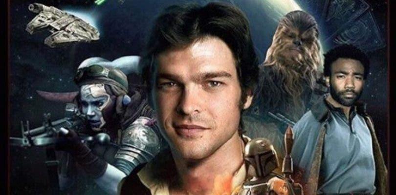 Se filtra el primer póster del spin-off de Star Wars sobre Han Solo