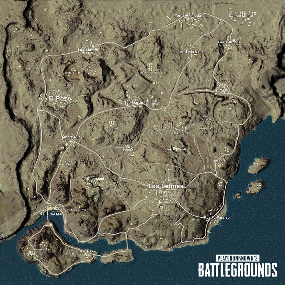 PlayerUnknown's Battlegrounds Miramar 1