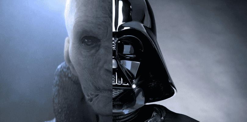 Snoke es más poderoso que Darth Vader en Star Wars: Los Últimos Jedi