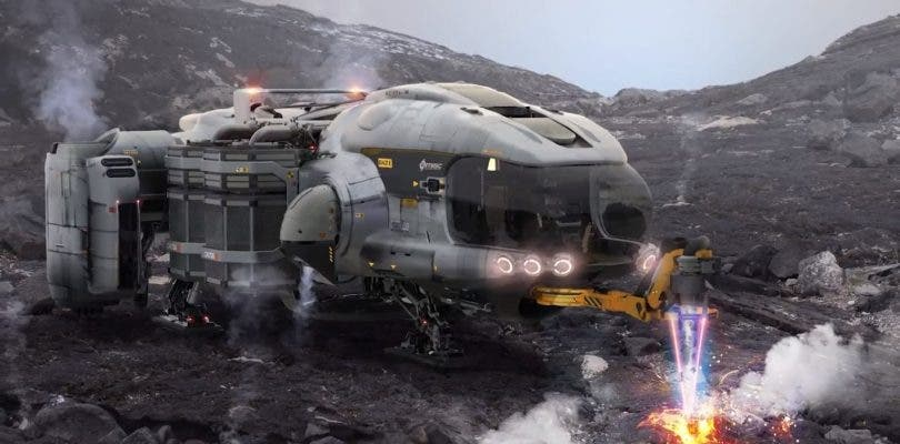 Cloud Imperium Games vuelve a enseñar más naves de Star Citizen
