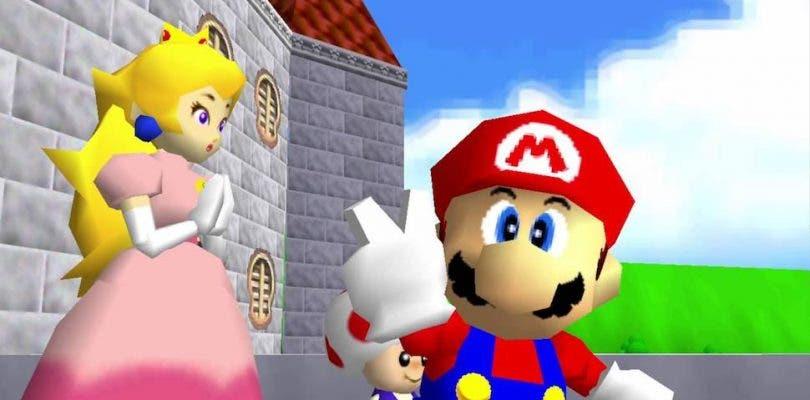 Un mod de Super Mario 64 nos permite disfrutarlo en primera persona