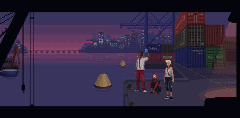 La aventura cyberpunk The Red Strings Club muestra sus primeros minutos