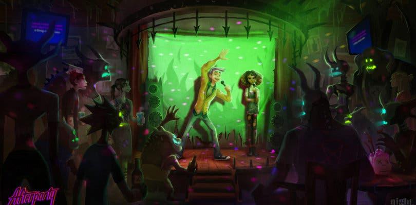 Afterparty, lo nuevo de los creadores de Oxenfree, enseña un extenso gameplay