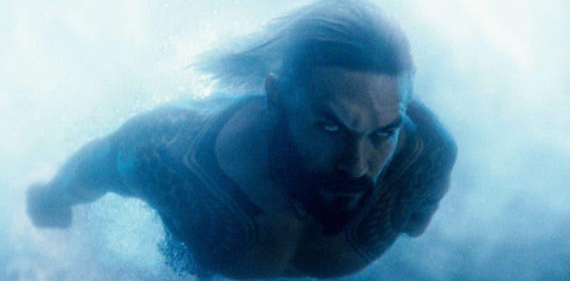 Jason Momoa atemoriza en la primera fotografía de Aquaman