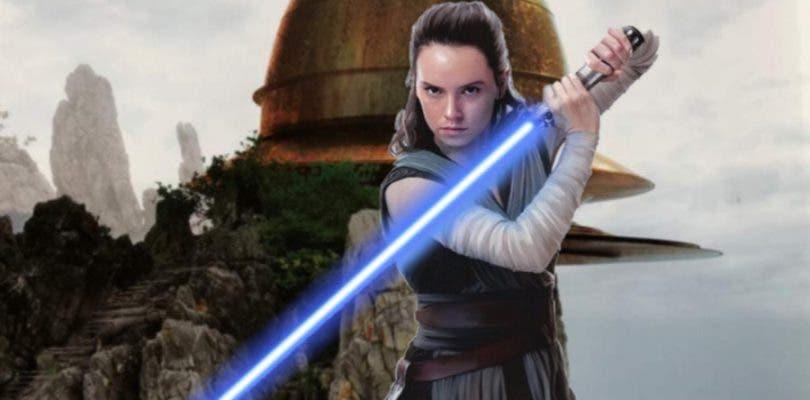 Así iban a ser Rey y la academia Jedi en la nueva trilogía Star Wars según Lucas