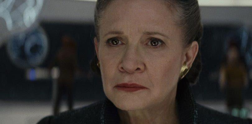 Este es el homenaje a Carrie Fisher en los créditos de Star Wars: Los Últimos Jedi