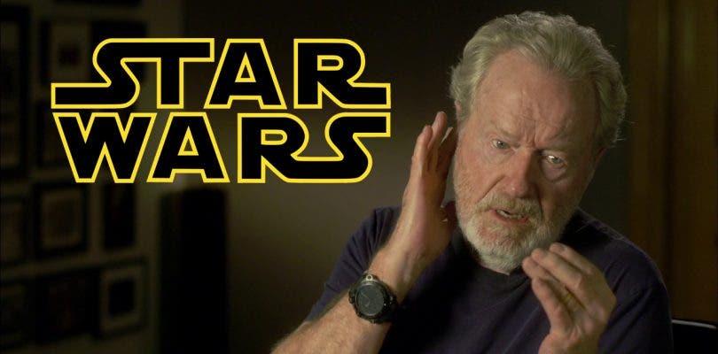 """Ridley Scott cree que sería """"demasiado peligroso"""" para una película de Star Wars"""