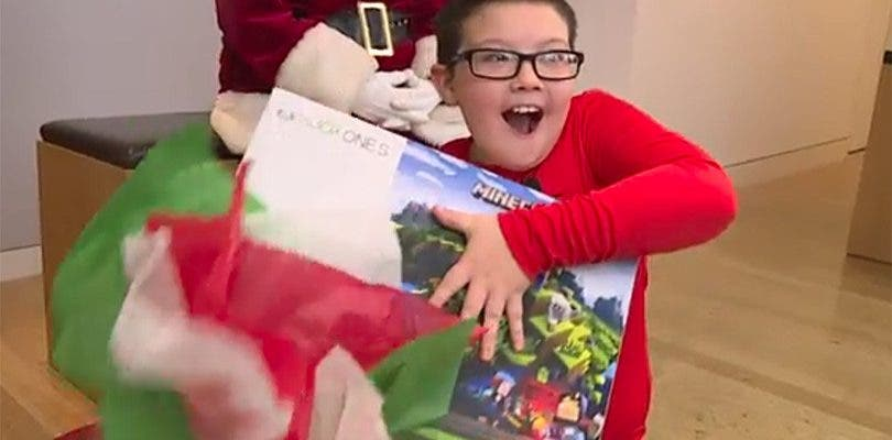Un niño pide a Papa Noel mantas para gente sin hogar y Microsoft reacciona así