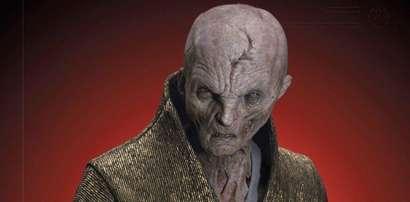 Andy Serkis explica su reacción tras conocer el destino de Snoke en Star Wars