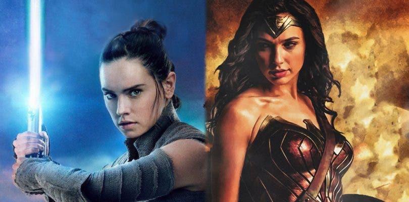 Star Wars: Los Últimos Jedi supera a Wonder Woman en la taquilla internacional