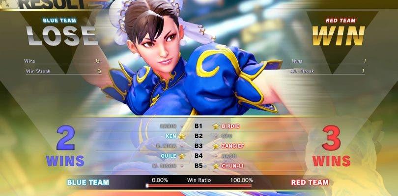 Presentado el nuevo modo Team Versus para Street Fighter V: Arcade Edition