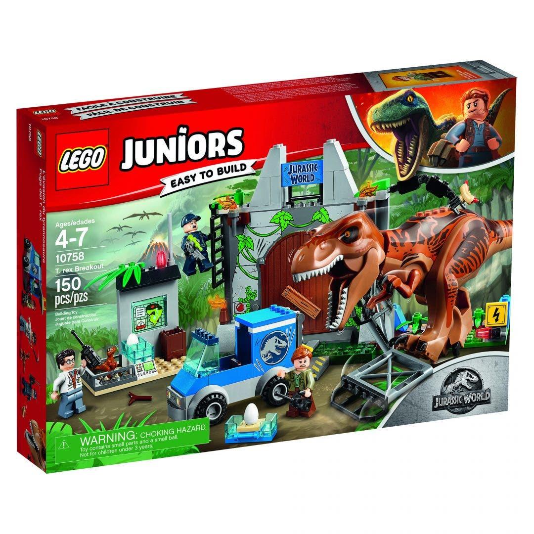 Asi Son Los Primeros Packs Lego De Jurassic World El Reino Caido