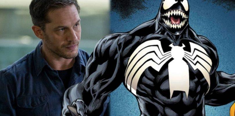 Tom Hardy termina su trabajo en el rodaje de la película de Venom