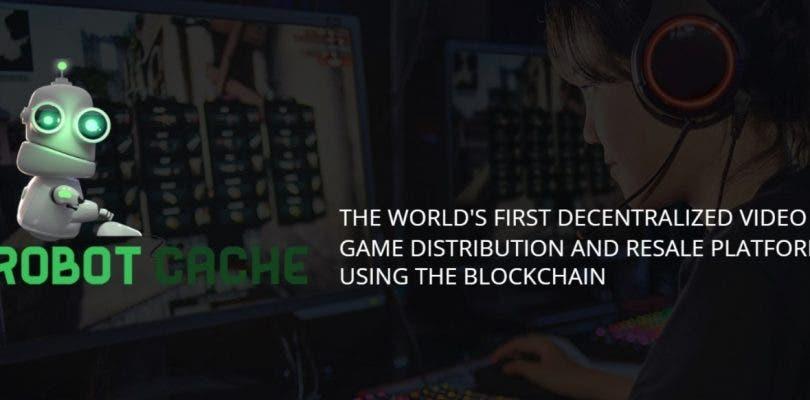 Así es Robot Cache, la tienda digital para comprar y revender juegos