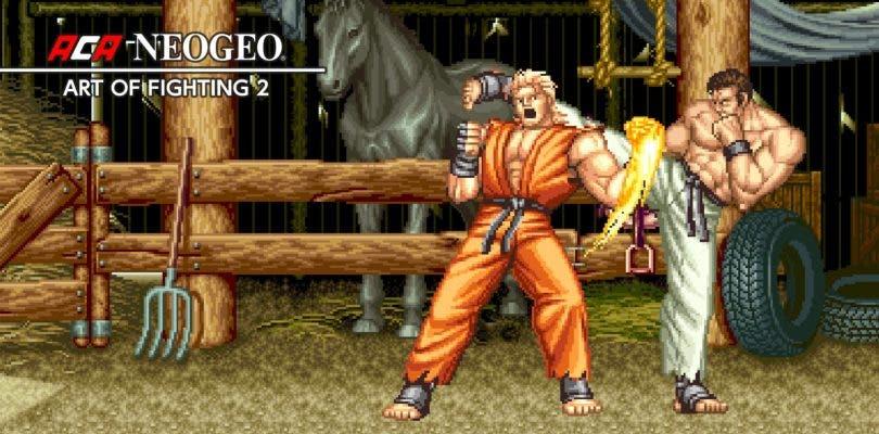 ART OF FIGHTING 2 ya está disponible en Nintendo Switch