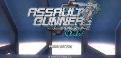Assault Gunners HD es anunciado oficialmente para PlayStation 4 y PC