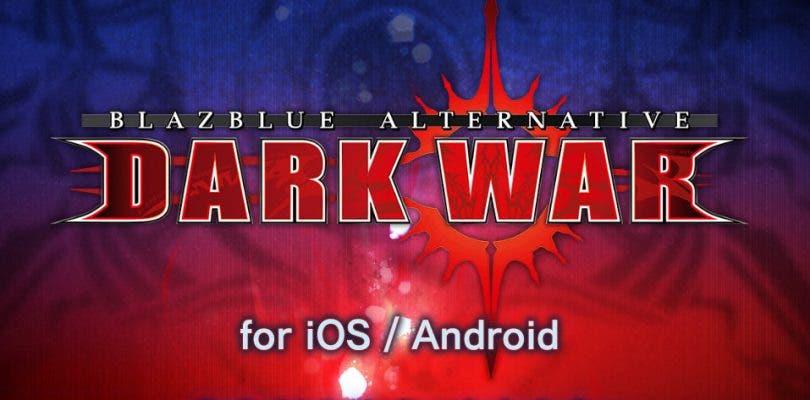 BlazBlue Alternative: Dark War aterrizará en el mercado en 2018
