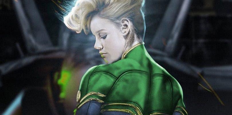 Surge la polémica con las primeras imágenes de Brie Larson como Capitana Marvel