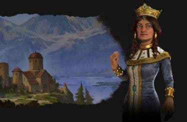 Civilization VI: Rise and Fall nos introduce a Tamar, líder de Georgia