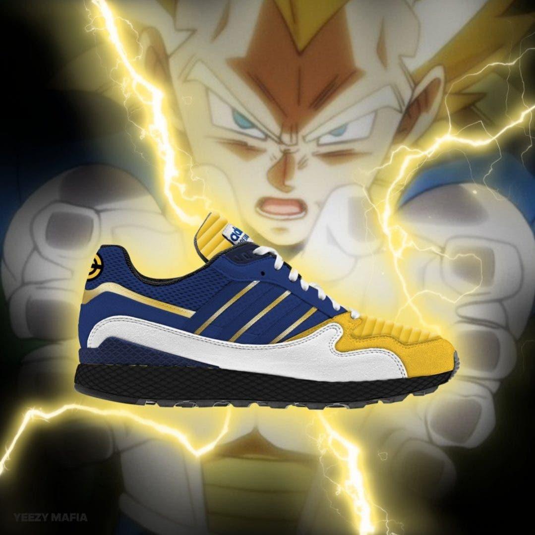abd2a8f7a9b Así son las zapatillas Adidas de Dragon Ball inspiradas en Goku ...