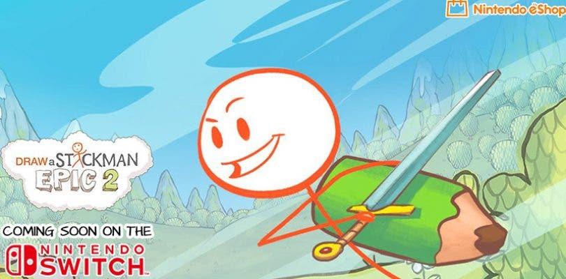 Draw a Stickman: EPIC 2 llegará a Nintendo Switch la próxima semana