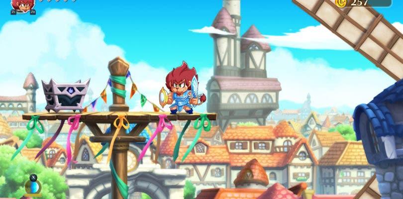 Monster Boy and the Cursed Kingdom se muestra en una nueva galería de capturas