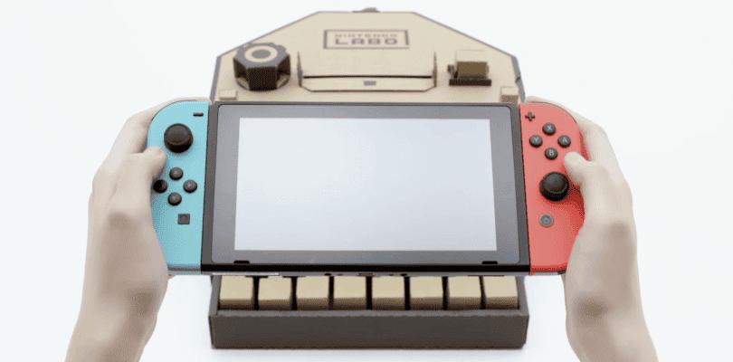 Nintendo Labo detalla sus instrucciones, recambios y tiempos de montaje