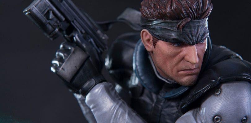 La pieza de Solid Snake de First 4 Figures sufre un importante rediseño