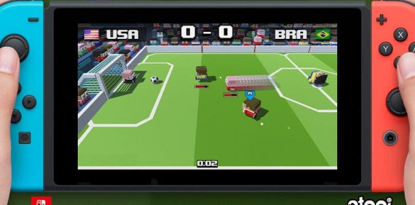 Atooi Anuncia Soccer Slammers Para Nintendo Switch Un Juego A Lo