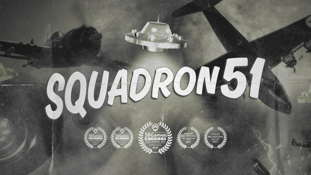 Imagen de Prepárate para derribar ovnis en Nintendo Switch con Squadron 51