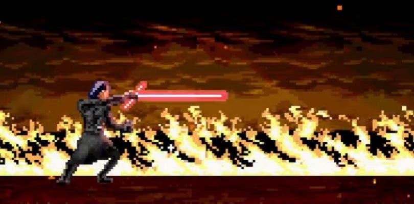 Star Wars Los ultimos Jedi 16bits