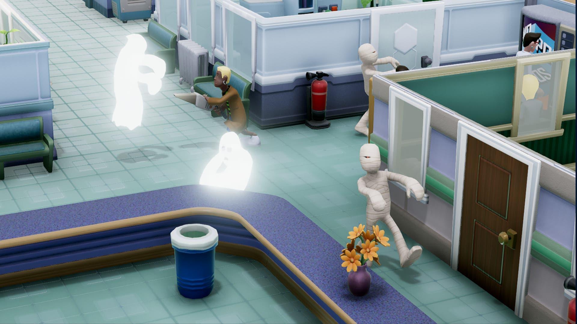 Imagen de Two Point Hospital retrasa su lanzamiento en consolas
