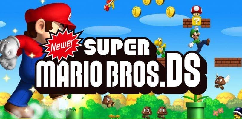 Newer Super Mario Bros es la nueva versión del juego de DS creada por fans