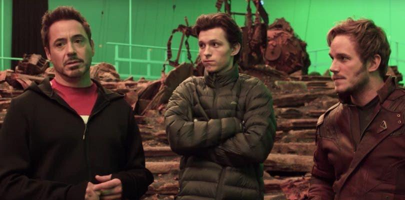 ¿Se están grabando escenas falsas de Vengadores: Infinity War para engañar?