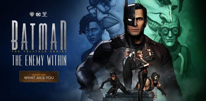 Telltale confirma cuándo llegará el cuarto episodio de Batman: The Enemy Within
