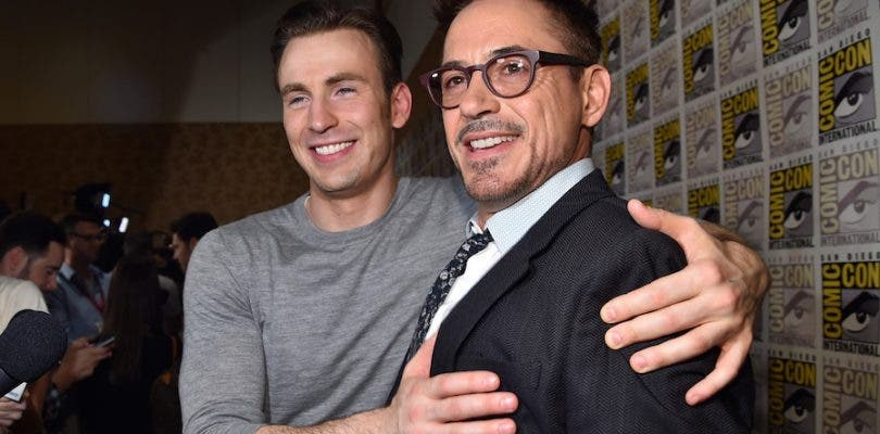 Chris Evans asegura que Robert Downey Jr. es irremplazable como Iron Man