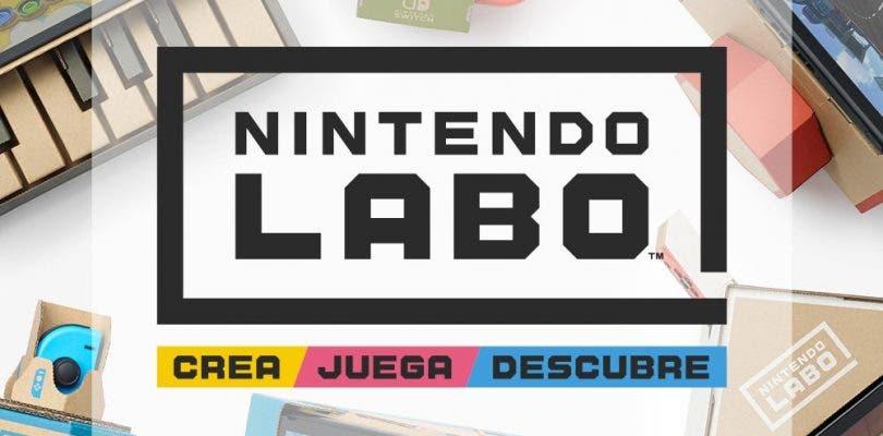 Los kits de Nintendo Labo llegarán a My Nintendo Store Japón